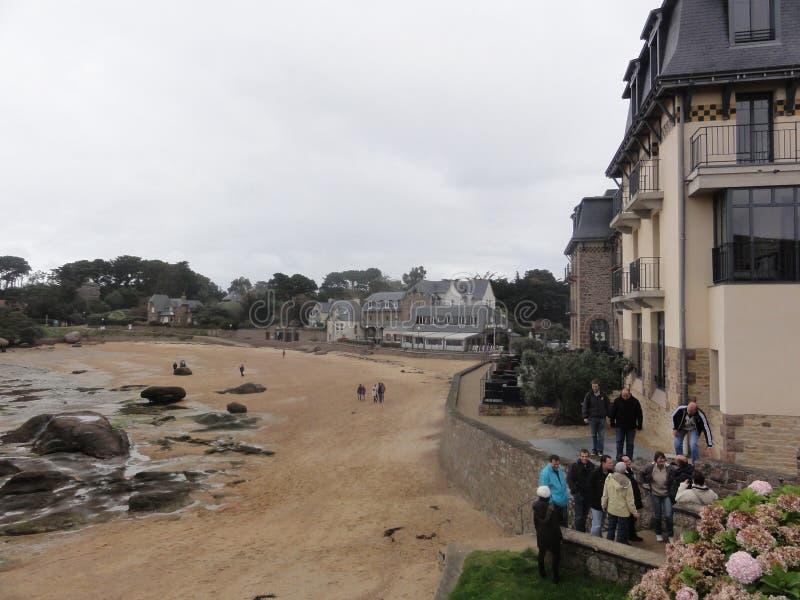 Bretagne - paisagem do golfo de Morbihan foto de stock royalty free