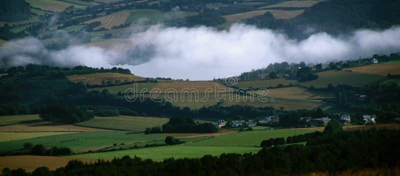 Breton landscape royalty free stock images