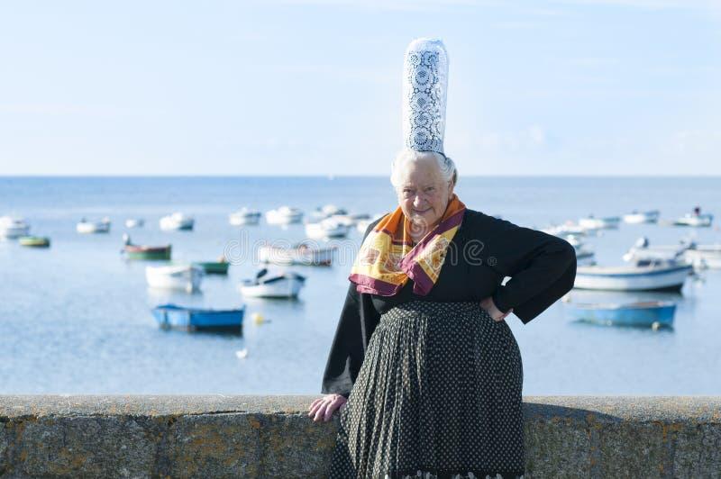 Download Breton Women With Headdress Bigouden Stock Image - Image: 26133131