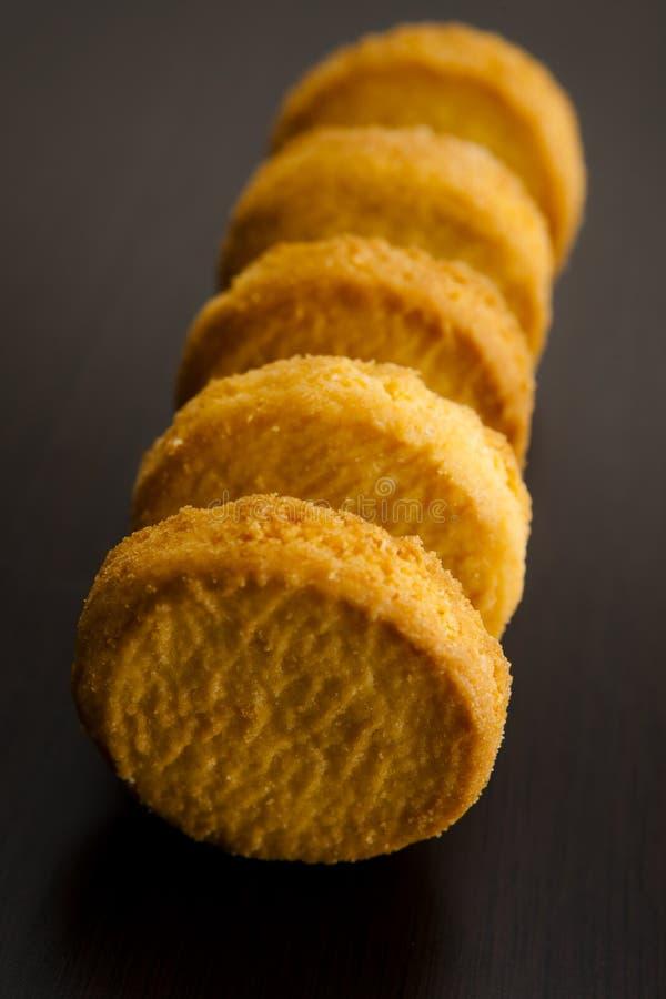 Bretoni di Palets dei biscotti di burro fotografie stock