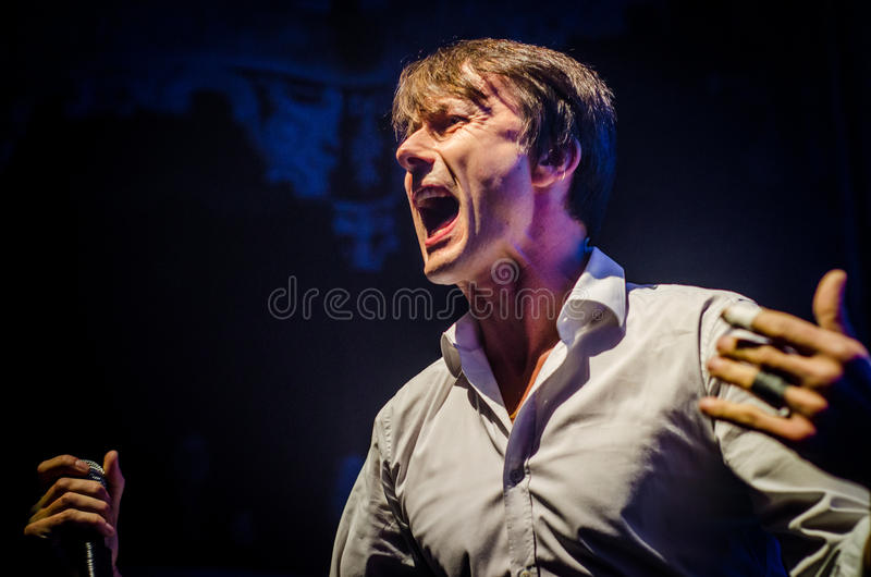Download Brett Anderson (Suede) editorial photography. Image of brett - 35146592