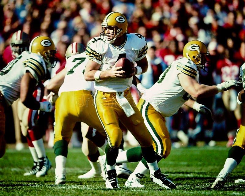 Brett Favre Green Bay Packers imagens de stock