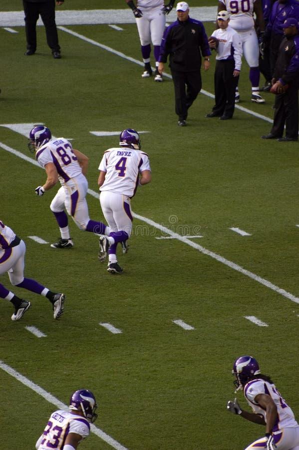 Brett Favre, Minnesota Vikings photographie stock