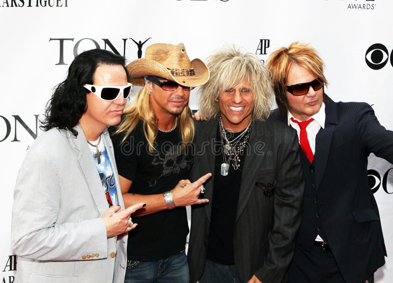Brett Michaels and cast from