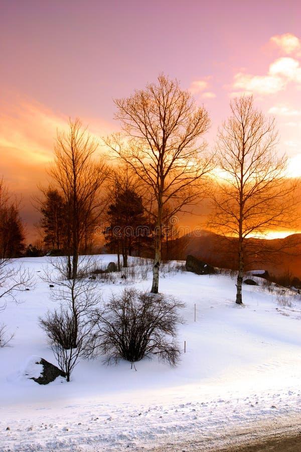 Bretton Woods, New Hampshire image stock