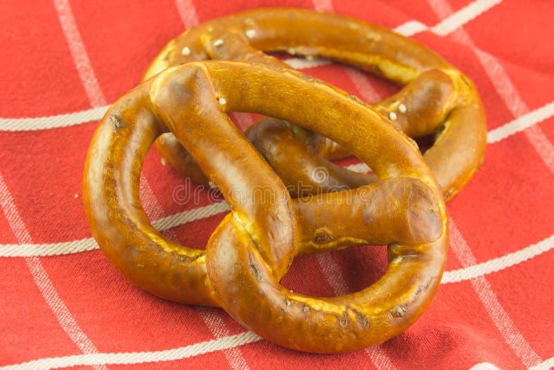Bretzel Typisch Duits brood royalty-vrije stock fotografie
