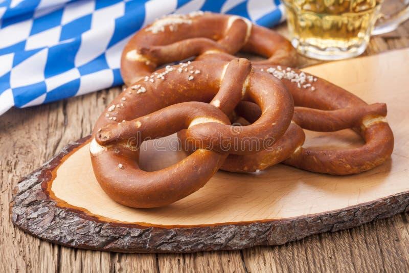 Bretzels tedeschi immagini stock