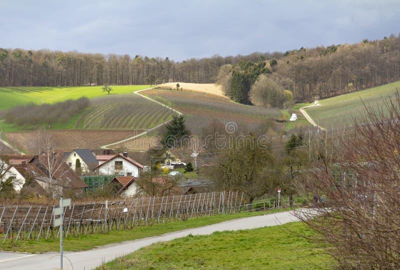 Bretzfeld в Hohenlohe стоковое фото rf