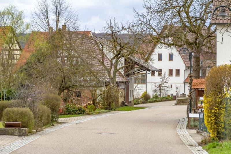Bretzfeld в Hohenlohe стоковое изображение