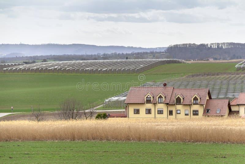 Bretzfeld in Hohenlohe immagine stock libera da diritti