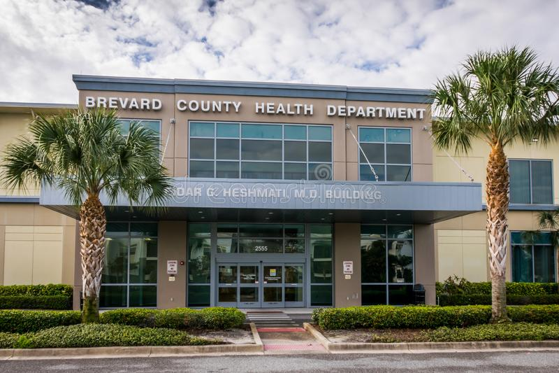 Brevard County Florida Health Department. VIERA, FLORIDA: Brevard County Heath Department works to protect, promote and improve health of life for all who live stock images