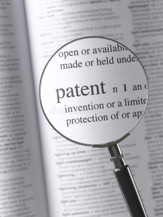 brevet image stock