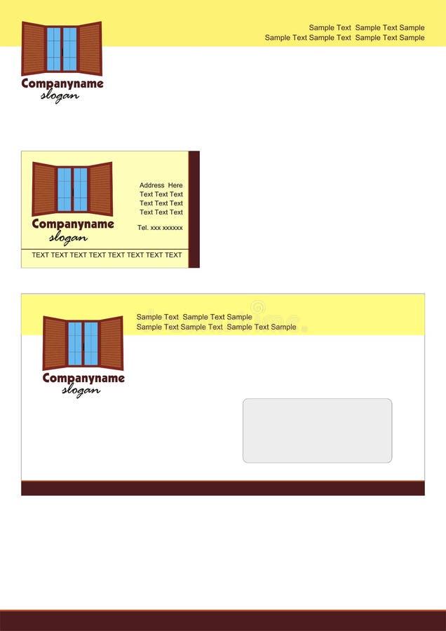 brevhuvud vektor illustrationer