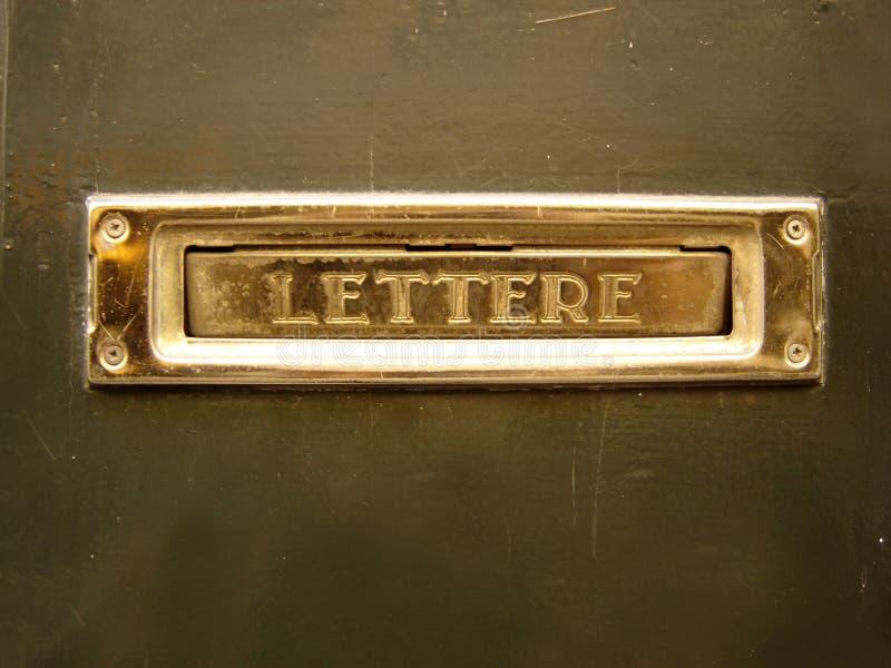 brevlåda arkivfoton