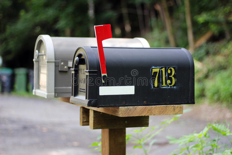 brevlåda arkivbilder