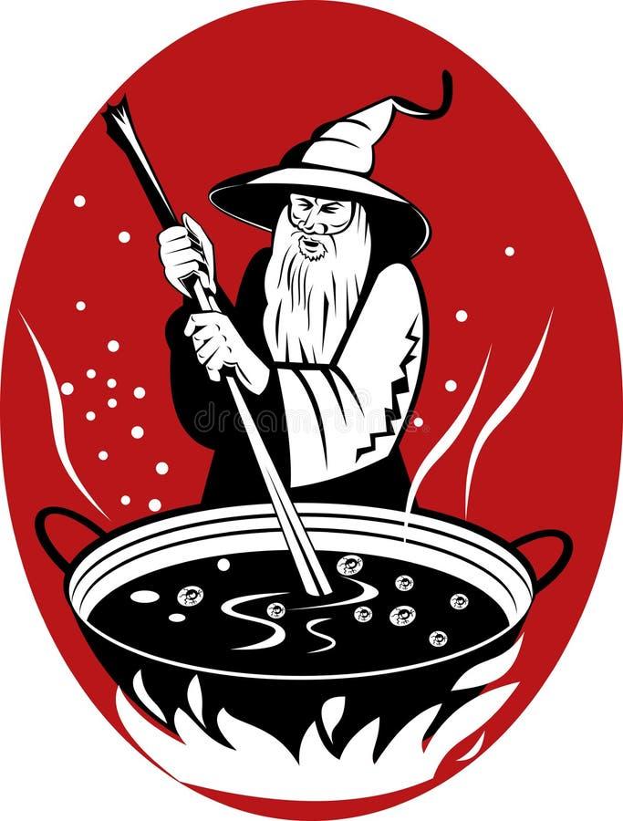 brew варя его волшебный warlock бесплатная иллюстрация