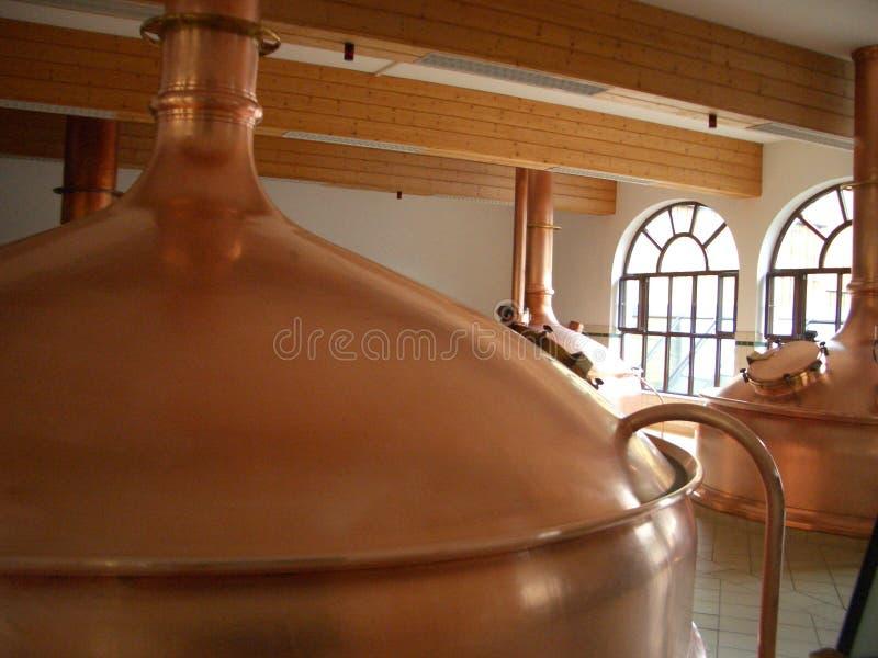 Brew-Raum stockfoto