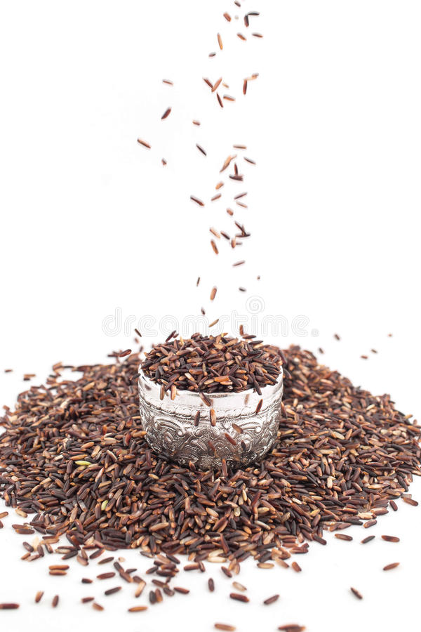 Brew ryż, karmowy tło obrazy royalty free