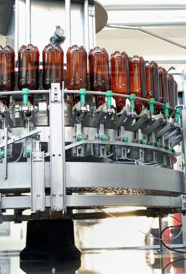 Brewery equipment stock photo