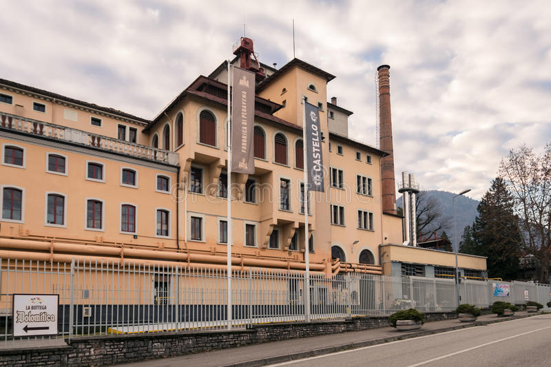Download Brewery In Pedavena, Italy. Editorial Stock Image - Image: 83724139