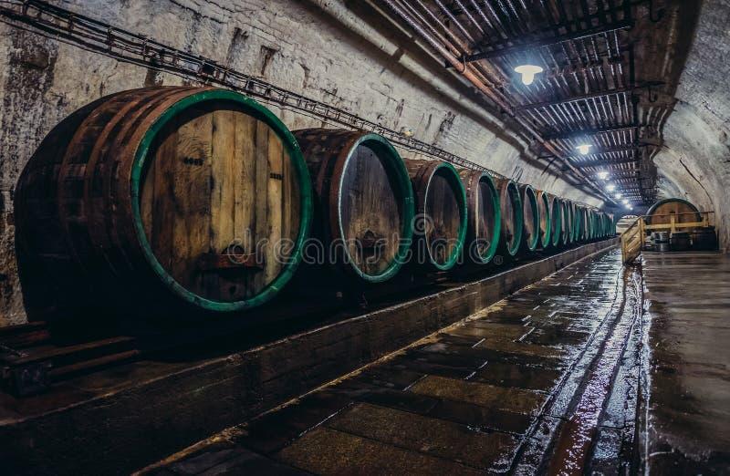 Brewhouse i Pilsen arkivfoto