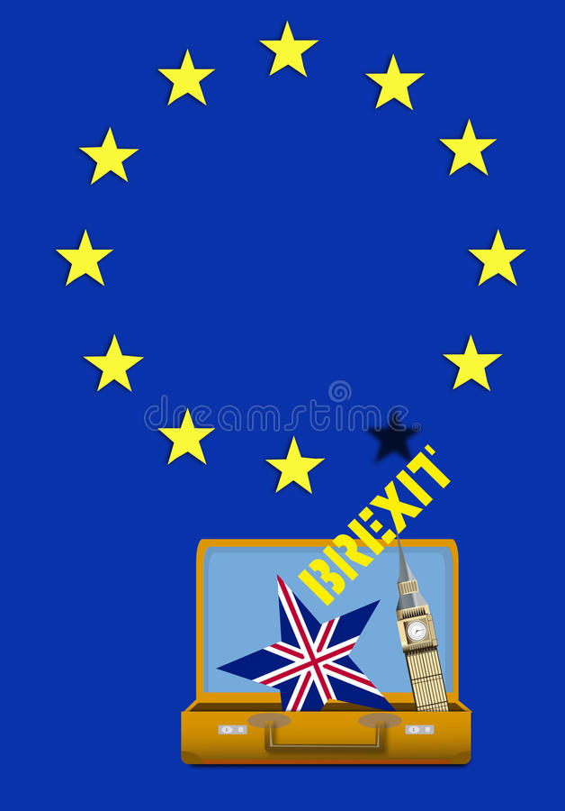 Brexit英国 库存照片