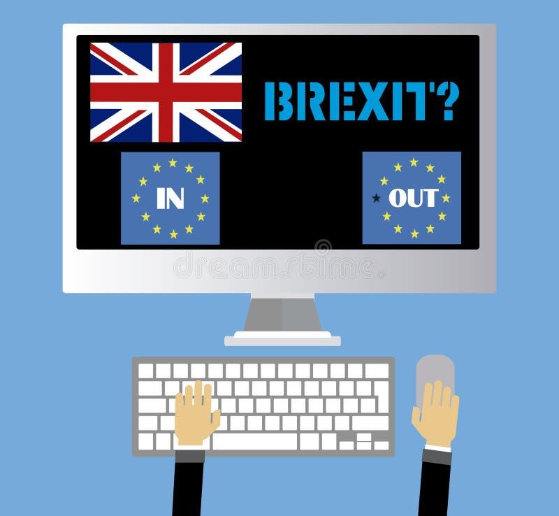 Brexit英国 免版税库存照片