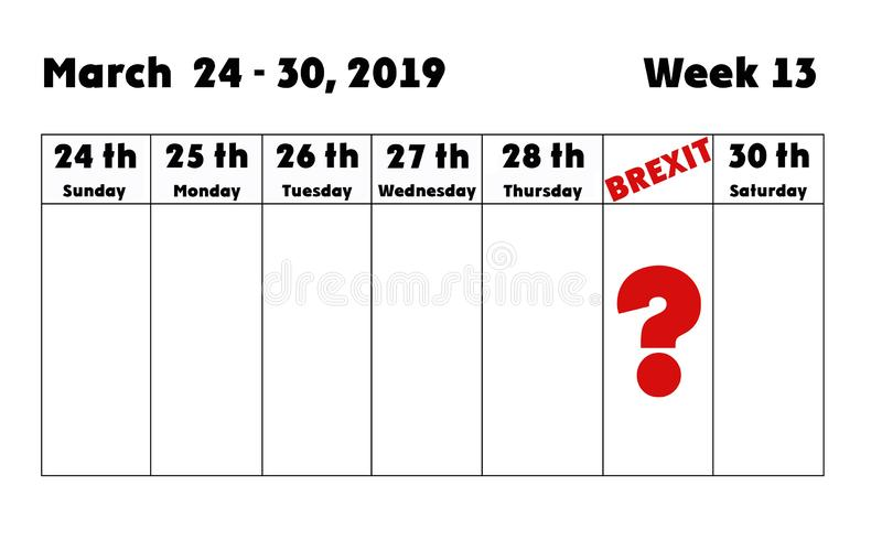 Brexit διανυσματική απεικόνιση