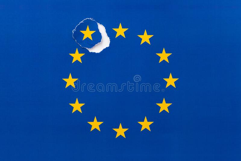 Brexit, απόσυρση του UK από την ΕΕ στοκ φωτογραφία με δικαίωμα ελεύθερης χρήσης