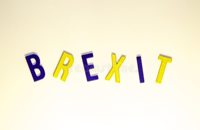Brexit obraz royalty free
