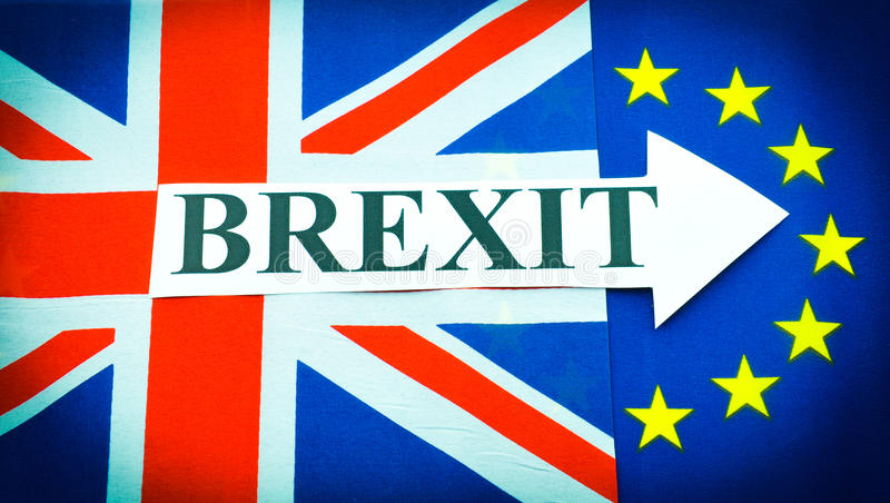Brexit images stock