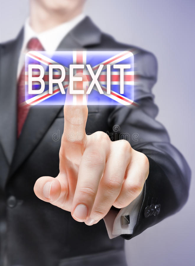 Brexit imagen de archivo libre de regalías