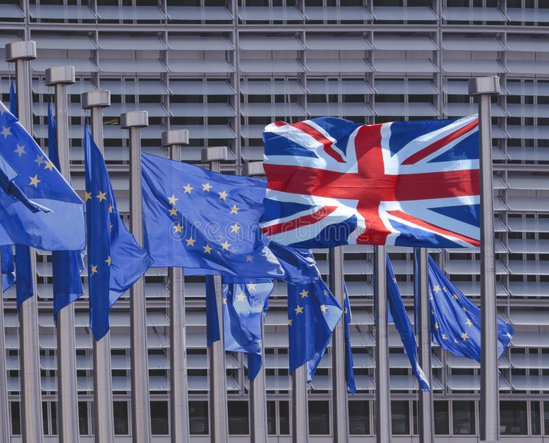 Brexit 免版税库存图片