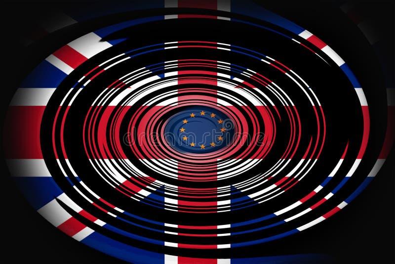 Brexit image libre de droits