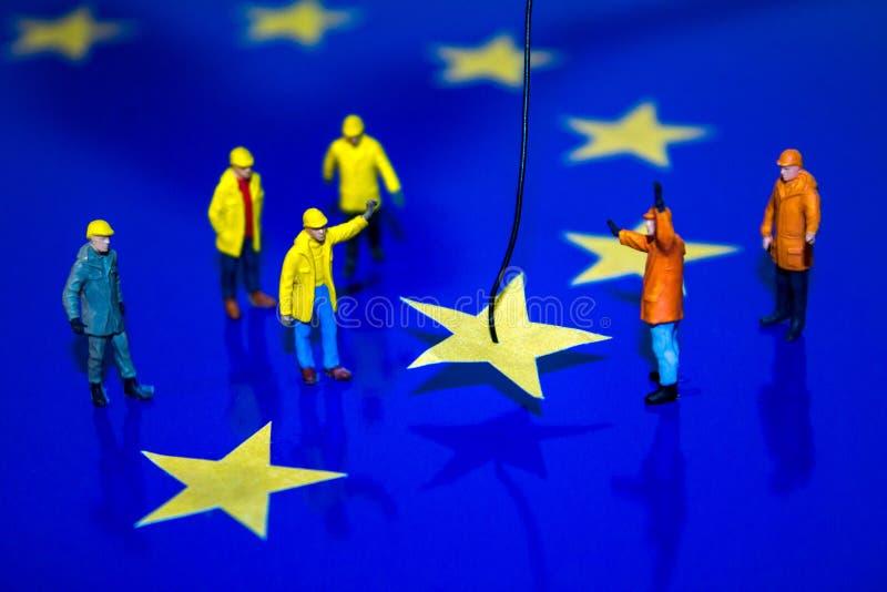 Brexit-Abbau stockfoto