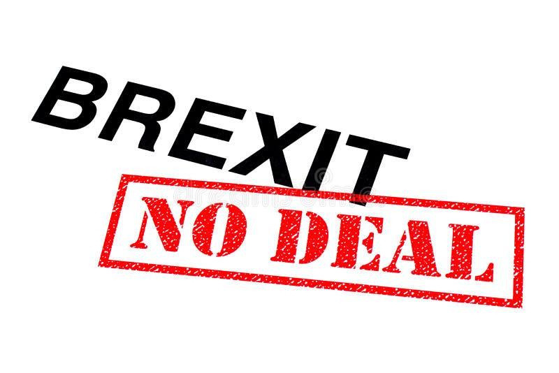 Brexit aucune affaire images stock