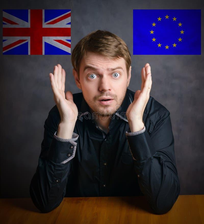 Brexit - Begriffsbild stockfotos