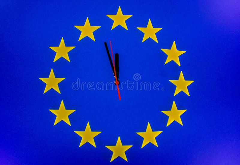 The Brexit Countdown royalty free stock photo