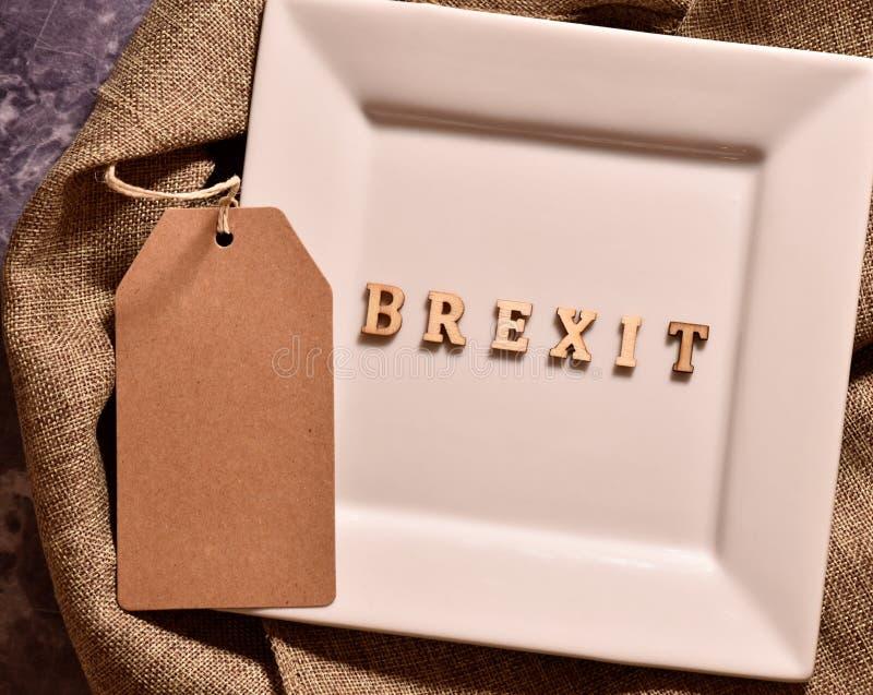 Brexit de Word photographie stock libre de droits