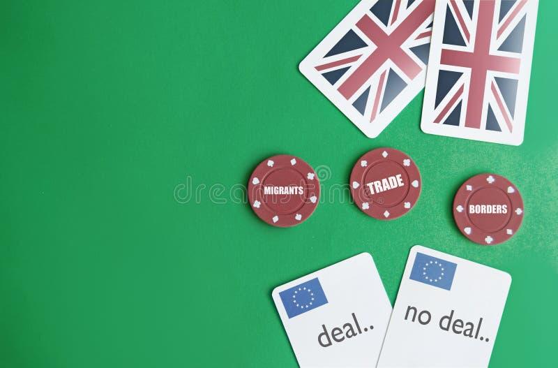 Brexit grzebaka pojęcie zdjęcia royalty free