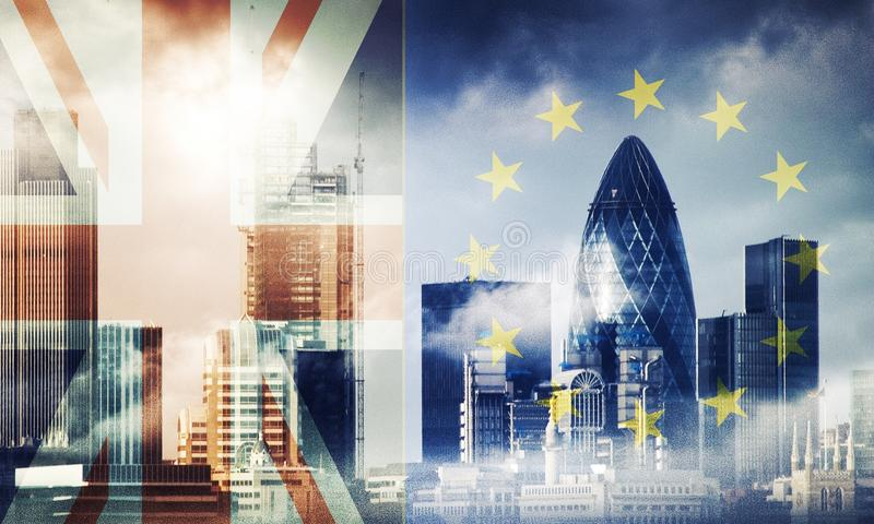 Brexit stock illustration