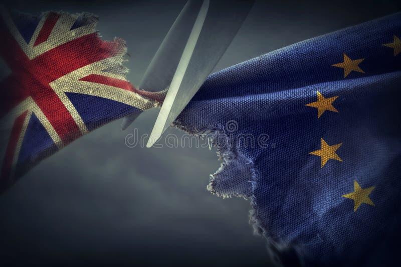 Brexit pojęcie fotografia royalty free