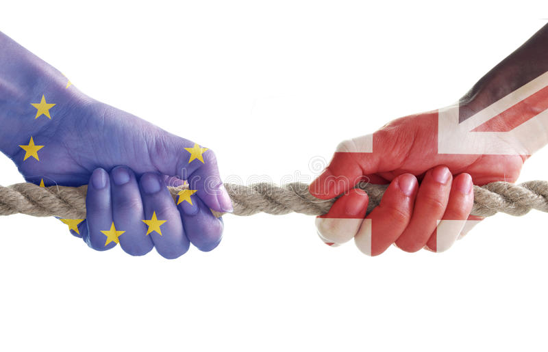 Brexit pojęcie obraz royalty free