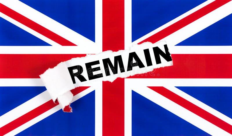 Brexit, retiro del Reino Unido de la UE fotografía de archivo libre de regalías