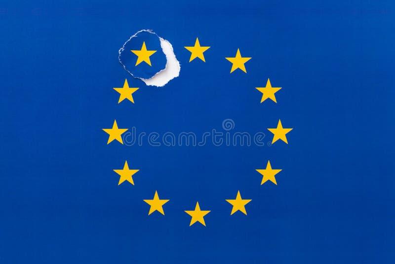 Brexit, ritiro del Regno Unito dall'UE fotografia stock libera da diritti