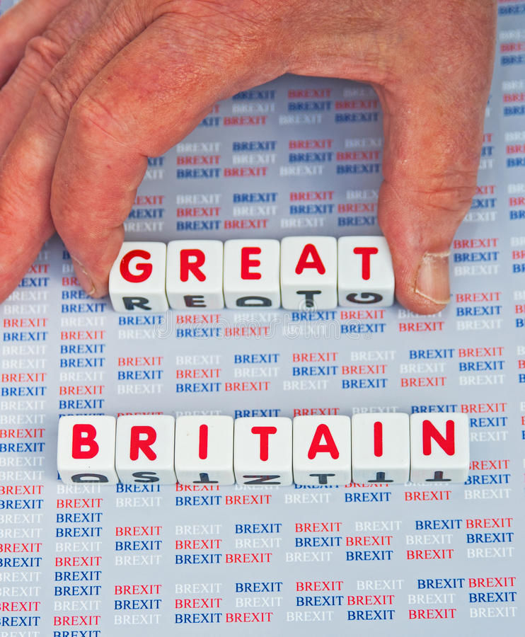 Download Brexit Taking The 'Great' Out Of Britain. Stock Image - Image of taking, britain: 75676743