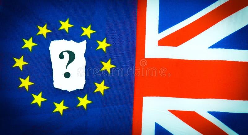 Brexit UK EU-folkomröstning royaltyfri fotografi