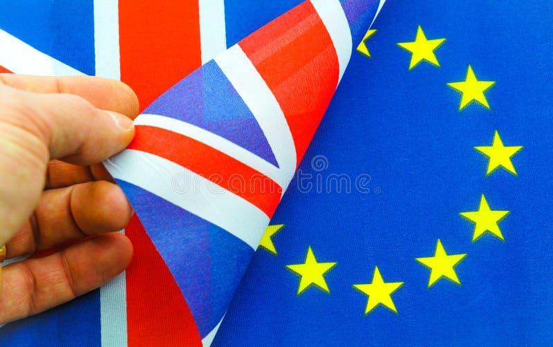 Brexit UK EU-folkomröstning royaltyfria foton