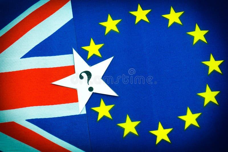 Brexit UK EU-folkomröstning arkivbilder