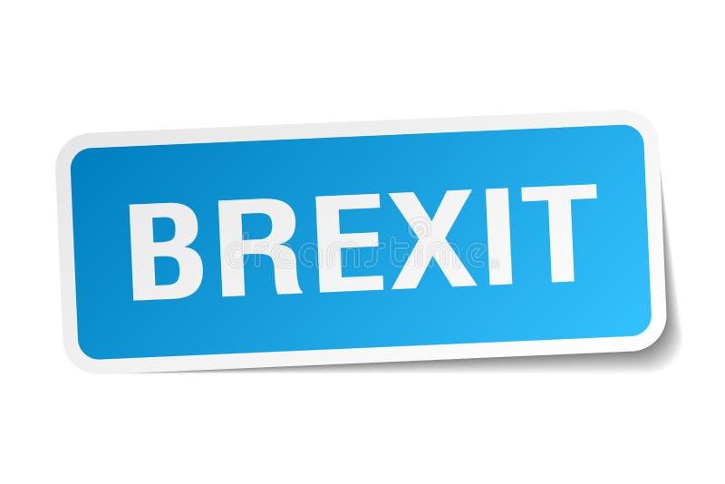 brexitklistermärke stock illustrationer
